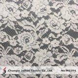 Laço Scalloped marfim do cabo para o vestido de casamento (M0394)