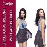 Babydoll-Wäsche-Unterwäsche-FrauSleepwear (L28012-1)