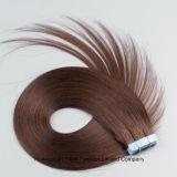 """22 """" i capelli di trama del nastro della pelle di estensione 20PC/Set dei capelli del Brown in azzurro incollano"""