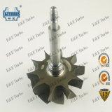 Eixo da turbina da roda de turbina 714770-0007 de GTA4294 GTA4202 714470-0001 para 714791 714792 714794 714796