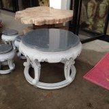 Precio al por mayor de la tabla de mármol Teapoy Cuarzo Tablas de cena superiores de la piedra