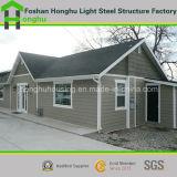 Chalet prefabricado del acero de la luz de la casa de la casa prefabricada moderna