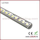 luz de tira de aluminio del perfil LED del 16W/M con alto lumen