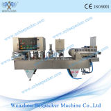 Máquina de café taza de líquido de lavar la taza de papel sellado con el CE