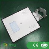 réverbère solaire solaire Integrated du réverbère de panneau solaire de 10W LED 25W Sunpower LED