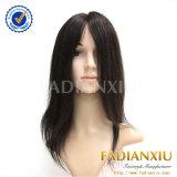 Parrucche nere lunghe del merletto della parrucca delle donne brasiliane piene dei capelli umani