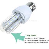 Der LED-energiesparende Lampen-3u LED Birne E27 Mais-des Licht-5W mit Beleuchtung 2835SMD