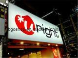 Bannière rétro-éclairée à impression numérique laminée PVC (500dx500d 18X12 510g)