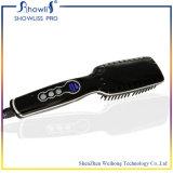 Pinsel-Haar-Strecker-Kamm-Eisen kommen mit 6 Kapiteln Temperaturregler-des elektrischen gerades Haar-Kamm-Geraderichtens