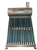 Riscaldatore di acqua solare pressurizzato bobina di rame preriscaldato integrato 2016