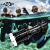 Tocha durável impermeável do diodo emissor de luz do mergulho da liga IP-X8 de alumínio (NK-133A)