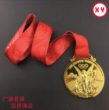 Medallas grabadas 3D del deporte de la aduana