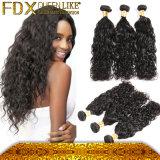 Двойник выдвижения волос Afro загерметизировал волос 100% неподдельные сырцовые бразильские