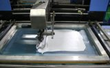 2 colori Automatic Screen Printing Machine per Nice Apparel Labels