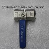Gewinde-Kugelventil des Einteiler-CF8 mit Qualität