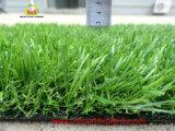 Трава хорошего качества искусственная для виллы с испытанием Svhc