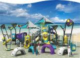 Спортивная площадка любимейшего супермаркета детей серии Kq60015A Sailing моря Kaiqi коммерчески пластичная