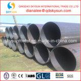 Pijp van het Staal van de Levering van het Gas van de olie de Spiraalvormige