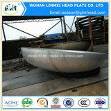 2 : 1 monture principale semi ellipsoïde de tube d'acier inoxydable