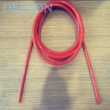 Het rode/Oranje/Zwarte RubberKoord van de Slang