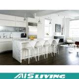 Foshan-Fabrik-Großverkauf Kurbelgehäuse-Belüftungmdf-hohe Glanz-Küche-Schrank-Möbel (AIS-K017)