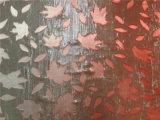 Peinture opale en soie de main de Lurex dans Ombre