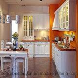 Multi modelli per la cottura dell'armadio da cucina di legno solido della mobilia