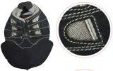 Máquina de costura computarizada do bordado industrial elétrico do teste padrão das calças de brim da parte superior de sapata