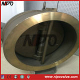 Wafer type Double disque swing Bronze Clapet (Alu Bronze)