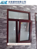 Opening esterno Aluminum Window con Single Glass