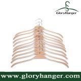 Прочная прокатанная деревянная отделка веек одежд естественная с мягкими Non-Slip нашивками