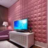 PVC barato Material 3D Wall Decorative Wall Panels de High Gloss