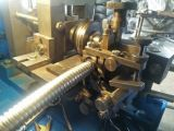 Conducto del metal flexible del Cuadrado-Bloqueo que hace la máquina