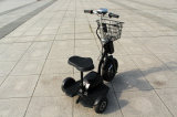 Front Basket와 Front Head Light를 가진 전기 Zappy Scooter /Electric Scooter /Electric Tricycle