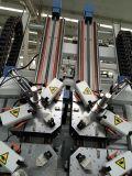 Blocco per grafici di portello della finestra di alluminio di CNC di alta efficienza che rende a macchina macchina di piegatura d'angolo