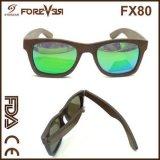 Type 2016 neuf des lunettes de soleil en bois polarisées par qualité