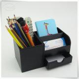 Lehrer-Arbeits-Schreibtisch-Einteilung angemessener Preis PU-lederne Girly