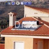 Calentador de agua solar a presión compacto de la placa plana En12975