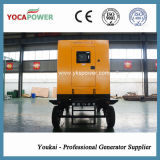 mobiler schalldichter elektrischer Dieselgenerator 250kVA/200kw