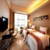 Frabric zeitgenössische Hotel-Schlafzimmer-Set-Möbel