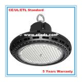 Indicatore luminoso elencato della baia del UFO LED dell'UL Meanwell 150W di TUV del Ce alto