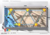 Kleiner kletternder Rahmen des Innenspielplatzes mit einfachem zu installieren