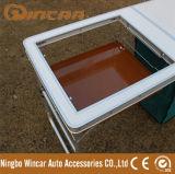 Tabela de dobradura de alumínio Multi-Function com gabinete de pano