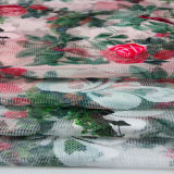 衣服およびホーム織物のための印刷されたレースのメッシュ生地