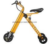 大人3の車輪の電気自転車のための電気蹴りのスクーターを折る36V 3車輪