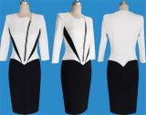 3 платья выпускного вечера женщин втулки четверти соединяя