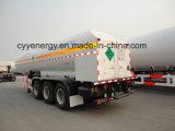 Cryogene Vloeibare Semi Aanhangwagen voor Lox, Lin, Lar, Lco2, LNG