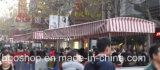 Waterdichte Stof van de Strook van het Geteerde zeildoek van pvc de Koude Gelamineerde (250dx250d 22X19 480g)