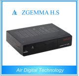 Récepteur satellite de Hbbtv FTA de récepteur de Zgemma H.S DVB-S2 MPEG4 HD