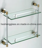 8mm Clear Tempered Glass Toughened Glass Shelf